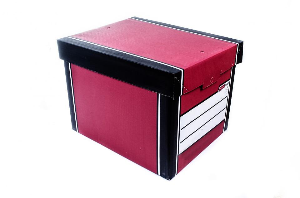barevná krabice