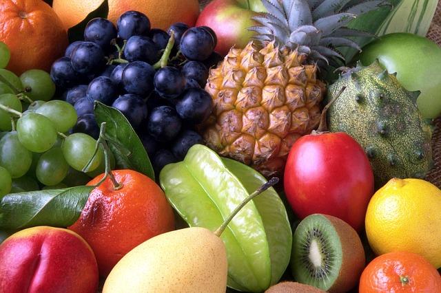 směs exotického ovoce