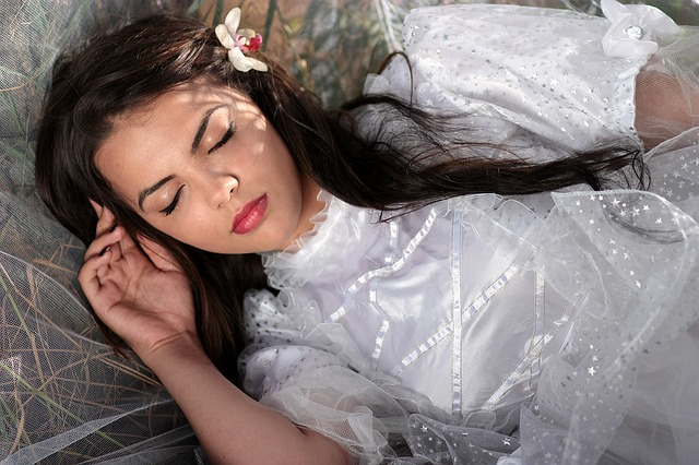 spící princezna